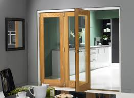 interior sliding doors which are made of full lite frosted glass
