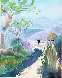 this is a level 1 watercolor class beginners welcome