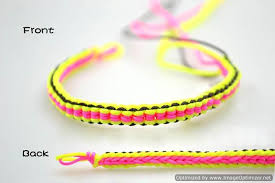 cozy inspiration easy bracelets to make diy tutorial friendship bracelet out of string with at home
