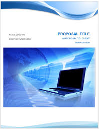 Technology Proposal Template Word | One-Piece