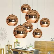 mirror ball pendant plated glass ball chandelier modern art lighting tom dixon plating ball pendant lights silver golden bronze track pendant lighting