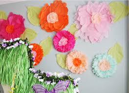diy giant tissue paper flowers