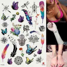 татуировка наклейка Nacini подросток парень мужской женский водонепроницаемые