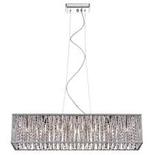 chandelier lamp shades lighting partsectangular pendant tree fell crystal s meaning dsi light chrome rectangular hanging