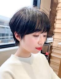 お色気ショート ハンサムマッシュom 162 ヘアカタログ髪型ヘア