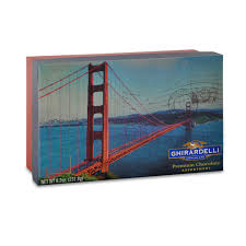 image for san francisco golden gate bridge gift box 18 pc from ghirardelli