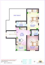 150 Sq Ft Floor Plan And Elevation Of 2336 Sqfeet 4 Bedroom House Home