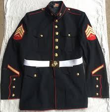 Usmc Dress Blues Size Chart Usmc Marine Corp Dress Blue Blouse And Or Trouser