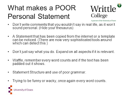 Creating Your Ucas Personal Statement Ppt Download