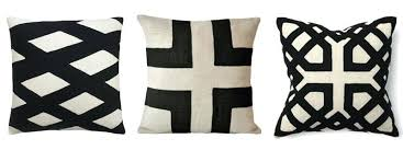 black and cream pillows.  Black Black And Cream Pillows With Black And Cream Pillows T