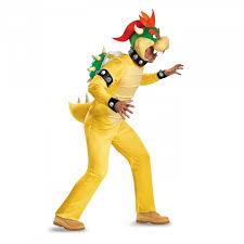 Adult Super Mario Bowser Fancy Dress Kit (Deluxe)