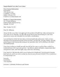 Sample Cover Letter For Health Professional Adriangatton Com