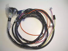 1966 belair 1965 1966 impala belair biscayne engine wiring harness 283 327 warning lights