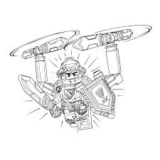 Leuk Voor Kids Kleurplaat Lego Nexo Knights Ridder Clay Nexo