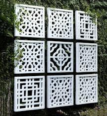 wall art for gardens australia
