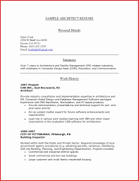 Architecture Resume Examples 100 Lovely Architecture Resume Examples Resume Cover Letter Ideas 59