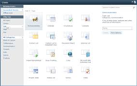 Sharepoint 2010 Library Template Sharepoint 2010 Mostly Complete List Of List Templates