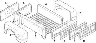 bed panels stepside 1967 72 chevrolet pickup truck 1967 72 gmc 1972 chevy truck wiring diagram bed panels stepside