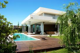 Small Picture Architecture Modern Backyard Pool Landscape Ideas With Outdoor