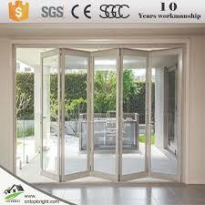 Bifold Door Bifold Door Suppliers And Manufacturers At Alibabacom - Bifold exterior glass doors