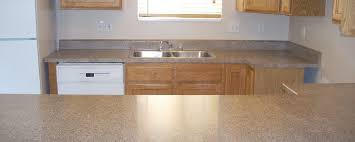 two diffe formica countertops