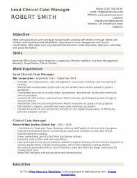 Certified Case Manager Resume Clinical Case Manager Resume Samples Qwikresume