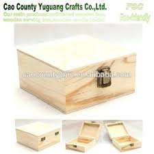lock wooden box hinged lid unfinished with catch puzzle plans lock wooden box