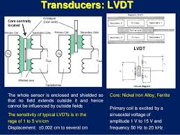 transducer linear variable differential transformer lvdt 17