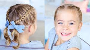 Pigtails Hair Style crisscross pigtails toddler hairstyles cute girls hairstyles 5272 by stevesalt.us