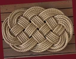 Handmade Recycled Float Rope Door Mats Picklee On Spring Doormat ...