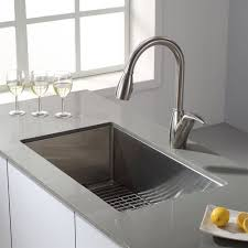 Kraus Khu100 30 Single Basin Kitchen Sink Lowes Canada Kitchens