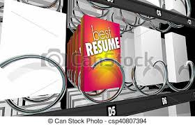 Vending Machine Job Beauteous Best Resume Applicant Job Candidate Vending Machine 48d Illustration