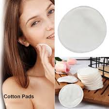 details about 100 200pcs cotton round skin care makeup cleaning pads puff face cosmetic