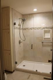 interior tile stand up shower attractive unique curbless ada bathroom ideas in 3 from tile