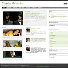 Mimbo Magazine Template Free Website Templates In Css Html