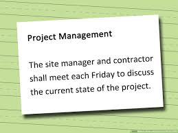 It Statement Of Work How To Write A Statement Of Work Sow 14 Steps With Pictures