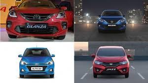 Toyota Glanza Vs Maruti Suzuki Baleno Vs Hyundai Elite I20