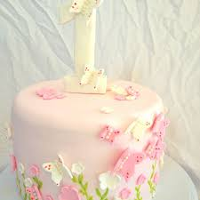 First Birthday Butterfly Cake By Vanilla Zaes Birthday Ideas In