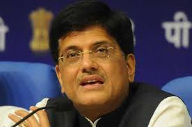 Image result for PICS OF REL MANTRI PIYUSH GOYAL
