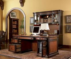 wooden home office. Luxury Fengshui Home Office Ideas With Wooden Executive Desk And Traditional Carpet