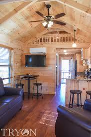 Log Cabin Bedroom Tryon International Equestrian Center