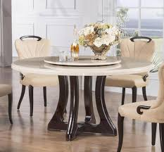 splendid dining room furniture double pedestal high top slab marble round table rustic black for 6