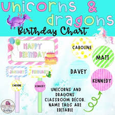 Unicorn Name Tags Worksheets Teaching Resources Tpt