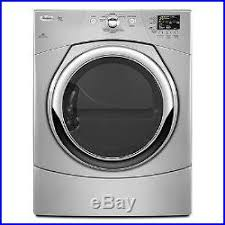 new gas dryer.  Gas Whirlpool WGD9371YL 27 Gray FrontLoad Gas Dryer NIB 9273 For New S