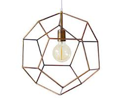 geometric lighting. contemporary geometric polyhedron geometric pendant light hanging handmade minimalist lamp  modern chandelier lighting gold bronze globe to o