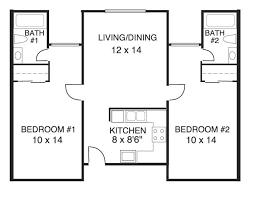 elegant house plans 2 bedrooms bathrooms new home design plan bedroom bath
