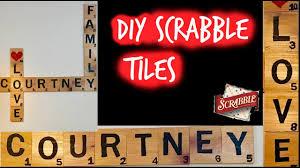 diy scrabble tiles how to make your own scrabble tiles wall decor