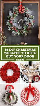 Others  Fancy Christmas Wreath Ideas For All Types Of Decor Holiday Wreaths Ideas