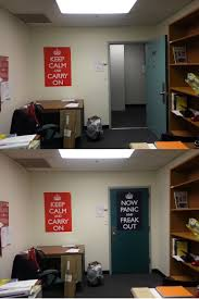 my office s open closed door policy