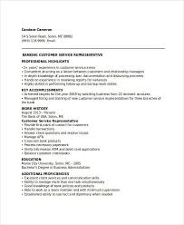 Banking Resume Samples - 45+ Free Word, Pdf Documents Download ...